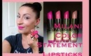 Milani Color Statement Lipsticks (Pinks): Review