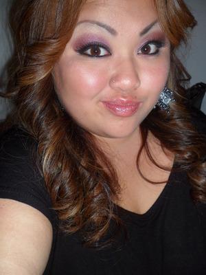 A make up tutorial