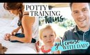DAY IN THE LIFE: POTTY TRAINING TWINS! | Kendra Atkins