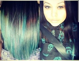 My New mermaid like hair color