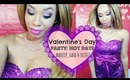 Sexy Valentine | Valentine's Day ♥ Makeup, Hair, Outfit & Nails | COMPLETE LOOK