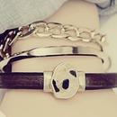Leopard Hair Pendant Bracelet