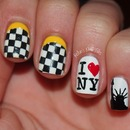 NYC inspired Nailart