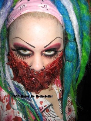 Some FX makeup I did for Chiller.