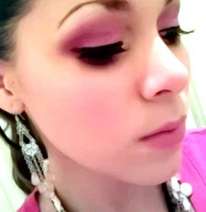 light plum look