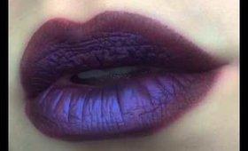 Melt Cosmetics: Dark Matter and Lovesick eyeshadow stacks : rockcandyleatherworks : loliloooo