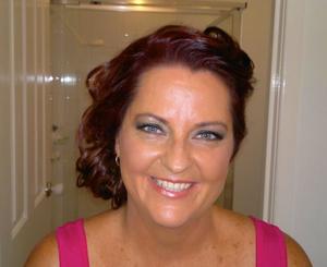 Donna's Makeup... un edited Airbrush base and blush. Snapshot.