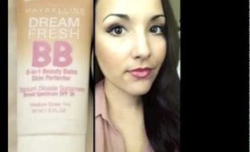 NEW Maybelline BB Cream Review + Demo