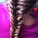 franch fishtail braid
