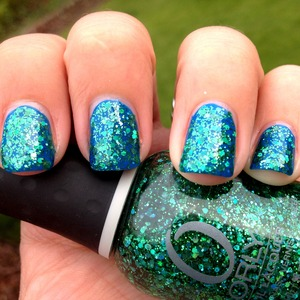 Mermaid Tale over FP Inkblot Blue