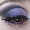 Purple cut crease