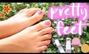 Pretty Feet Hacks: HOW TO GET PRETTY FEET| Paris & Roxy