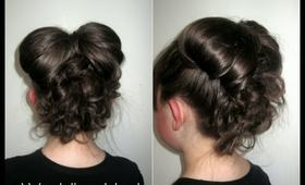 How To: Wedding Bow Updo