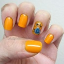 Flower Eye Of The Tiger Lily and China Glaze Mosaic Madness