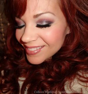 TwilightBeauty.com/ @TwilightMakeup : VICTORIA Palette and HUSH gloss ;) More info at VanityandVodka.com