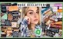 HUGE makeup declutter 2020! ♻️ powders, bronzers, fake tan & more!