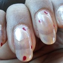 Sally Hansen: Purple Pizzazz + Sally Hansen: Raise A Glass + Sally Hansen: Red Hot + Sally Hansen: Sheer Vanilla