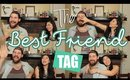 👫BFF Tag | Poo 💩 from the Ceiling, Falling Off Bikes 🚲, Broadway Songs🎶 | Ann & Jonathon