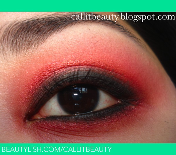 I challenged myself to use red eyeshadow and came up with this look. - callitbeauty D.'s (callitbeauty) Photo - Beautylish I challenged myself to use red eyeshadow and came up with this look. - callitbeauty D.'s (callitbeauty) Photo - 웹