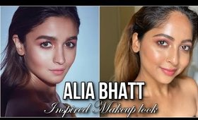#ALIABHATT Inspired #Makeup Look | Dewy Skin & Coral Eyes | Stacey Castanha