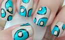 Nail Art - That 70's Rug - Decoracion de Uñas