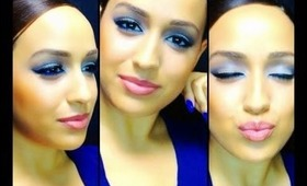 """Winter Blues"" Eye Makeup Tutorial"