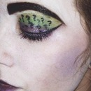 The Riddler inspired Makeup (Part 2)