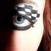 checkered eyes
