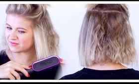 Best Hair Brush Straightener For ALL HAIR TYPES? 😲