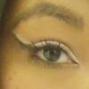 White and Black Cat Eye Finished
