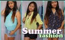 Summer Fashion Haul and Style + Giveaway