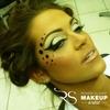 Black dot makeup
