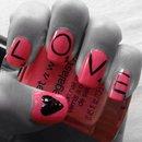 Valentines Nail Art!