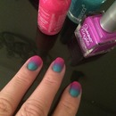 Ombré nails for the first time :)