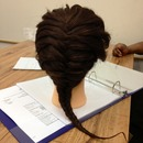 In class Practicing my Tree Briad