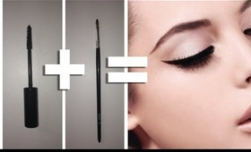 QUICK MAKEUP TIP - TURN YOUR MASARA INTO A GEL EYELINER!