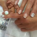 Jeweled nail accents