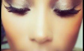 Individual natural custom eyelashes