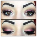Smokey Pink Eyeshadow