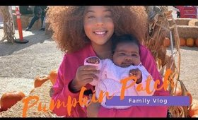 Soley's First Pumpkin Patch | Halloween Vlog