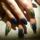 Blu e pavone