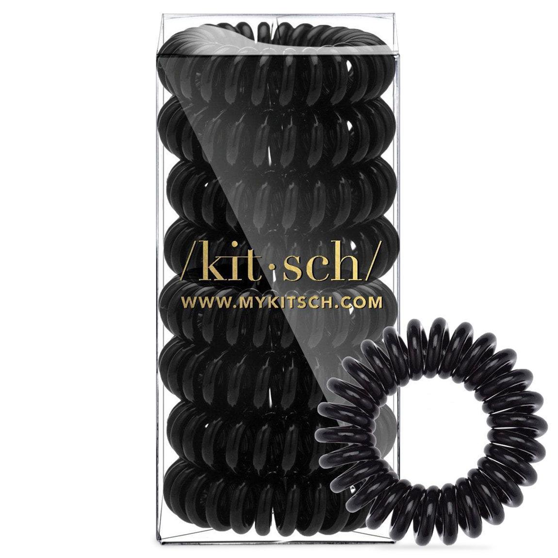 Kitsch 8 Pack Hair Coils Black alternative view 1.