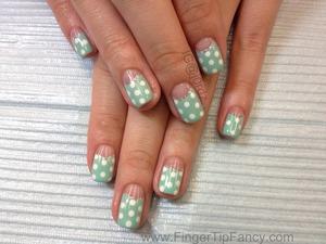 DETAILS HERE:   http://fingertipfancy.com/polka-dot-nails