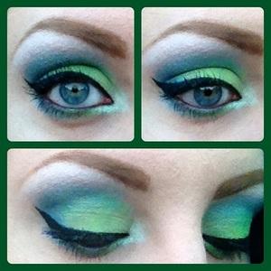 Loving my Sleek Acid Palette! I was feeling the mermaid vibe when creating this look hehe.