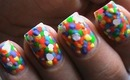Neon Bubbles designs- Nails Polish Colorful Neon Bright color nails Cute & Easy (Long & Short Nails)