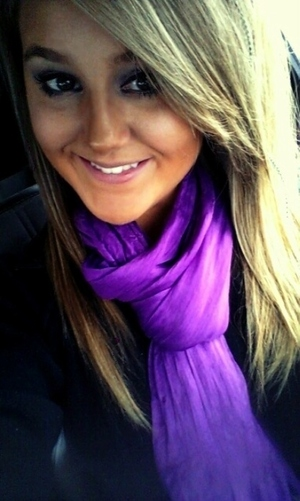 Bright Purple Scarf