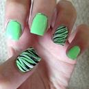 Minty Zebra 💚