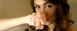 my rose ring i cant help but go crazy on this when i saw it on kandee johnson
