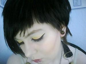 Yellow and Orange Eyeshadows