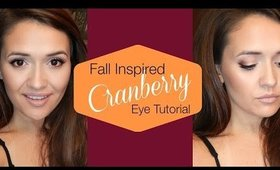Transition to Fall Cranberry Eyes Tutorial